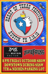 Tubefreeks at The Heart of Texas Festival - Austin, TX