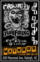 Tubefreeks at The Maywood - Raleigh, NC