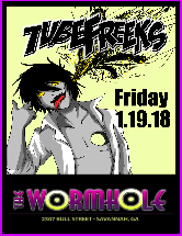 Tubefreeks at The Wormhole - Savannah, GA