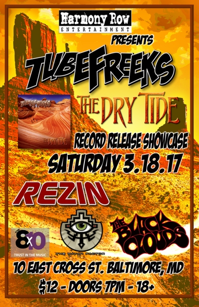 Tubefreeks LIVE at the 8x10 in Baltimore, Saturday, March 18 2017