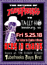Tubefreeks at The Tally Ho Theater - Leesburg,VA - 5-25-18